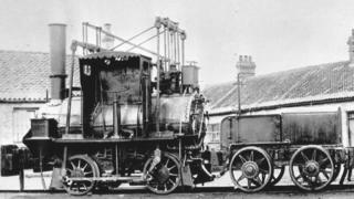 The engine in 1882