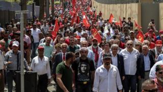 مسيرة في بيروت