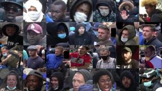 28 of the 35 people police want to speak to