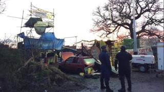 Upton anti-fracking camp
