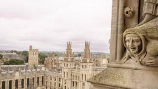 Гаргулья в Оксфорде