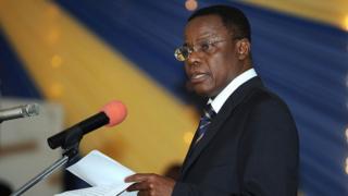Maurice Kamto est en prison depuis plusieurs mois pour avoir organisé des manifestations contre la réélection de Paul Biya.
