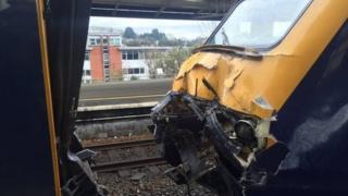 Train crash