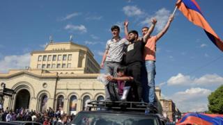 Празднования в Ереване