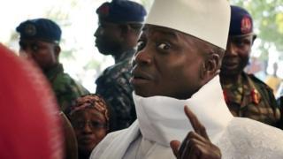 Jammeh alitwaa madaraka nchini Gambia mwaka 1994 kwa njia ya mapinduzi ya kijeshi