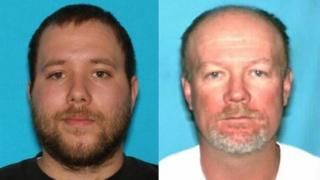Composite image showing Dereck and Flint Harrison
