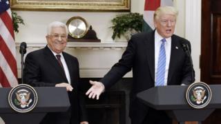 Трамп и Аббас