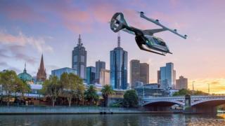 صورة: من المقرر أن تبدأ الرحلات التجريبية لتاكسي أوبر الطائر عام 2020