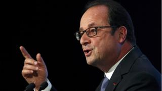 French President Francois Hollande (8 Sept)