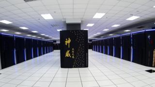 神威·太湖之光是第一台完全使用中國研發芯片的超級電腦,一度是全球運算能力最強大的超級電腦。