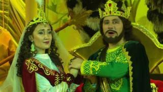 برای اولین بار در تاجیکستان: اپرای عاشقانه خسرو و شیرین