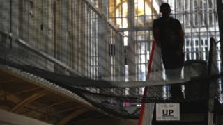 A prison in the UK (file photo)