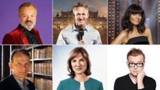 عدد من مذيعي بي بي سي