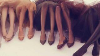 Đồ lót nude, môi son nude, giày nude là khái niệm khó hiểu