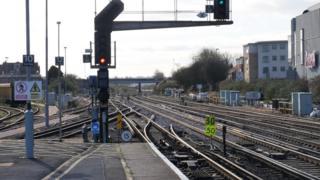 Eastleigh railway