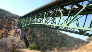 Foresthill Bridge near Auburn