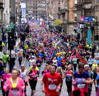 Great Scottish Run 2018