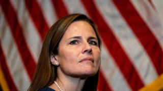 Amy Coney Barrett: Trump's Supreme Court nominee vows to 'apply law as written'