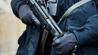 A firearms officer