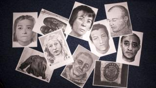 Nameless and unclaimed bodies and artefacts of unidentified bodies