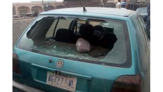 Car wey thugs destroy for Dala LGA