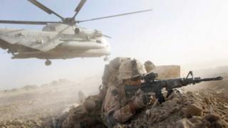 Une opération du 2e Bataillon des Marines américains en Afghanistan.