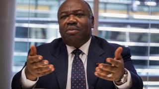 Ali Bongo Ondimba.