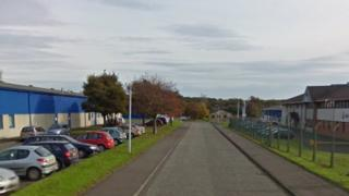Hillend Industrial Estate in Dalgety Bay