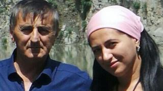 Мухарбек Евлоев и Марем Алиева: фотография из семейного архива