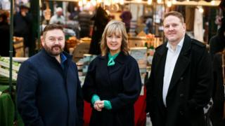 Presenters of Spend it Like Stormont