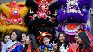 Chinese New Year celebrations in Glasgow