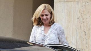Princess Cristina of Spain (July 2014)