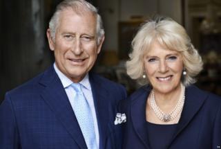 Принц Уэльский и герцогиня Корнуоллская