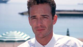 Luke Perry photographed in 1995