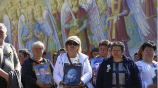 Мами загиблих бійців пройшли ходою у Києві