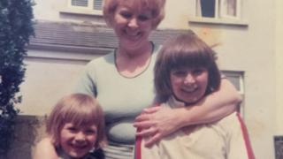 Nicky Wire and Patrick Jones a children with their mother Irene Jones