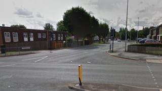 Junction of Crocketts Lane and Soho Way (generic photo)