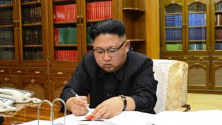 Kim Jong-Un, leader of North Korea.