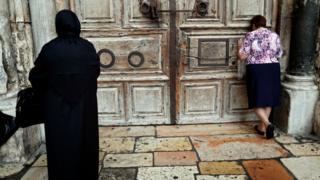 Holy Sepulchre in Jerusalem