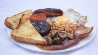 A full English breakfast