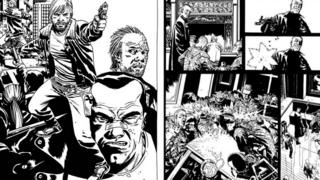 The Walking Dead and Savage comics