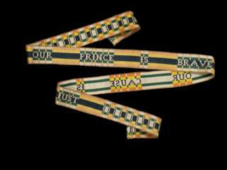 Jacobite garter