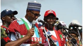 Nuhammadu Buhari ati Kayode Fayemi