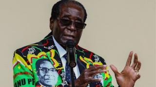 Le président Mugabe est au pouvoir depuis 37 ans.