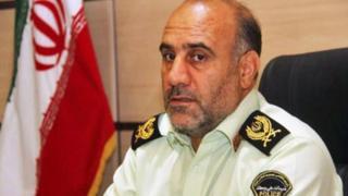 سرتیپ حسین رحیمی فرمانده پلیس پایتخت ایران است