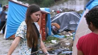 Jaz O'Hara in Calais