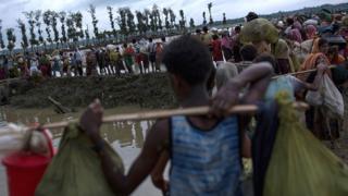 Bangladesh ifise ikibazo co gufasha impunzi nyinshi zihunga intambara muri Myanmar