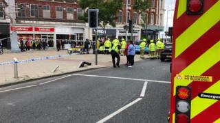 Incident in Lowestoft
