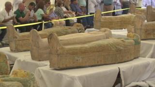 جزئیات تازه از کشف تابوتهای سه هزار ساله در مصر