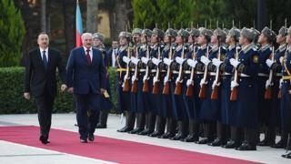 Ilham Əliyev və Aleksandr Lukaşenko